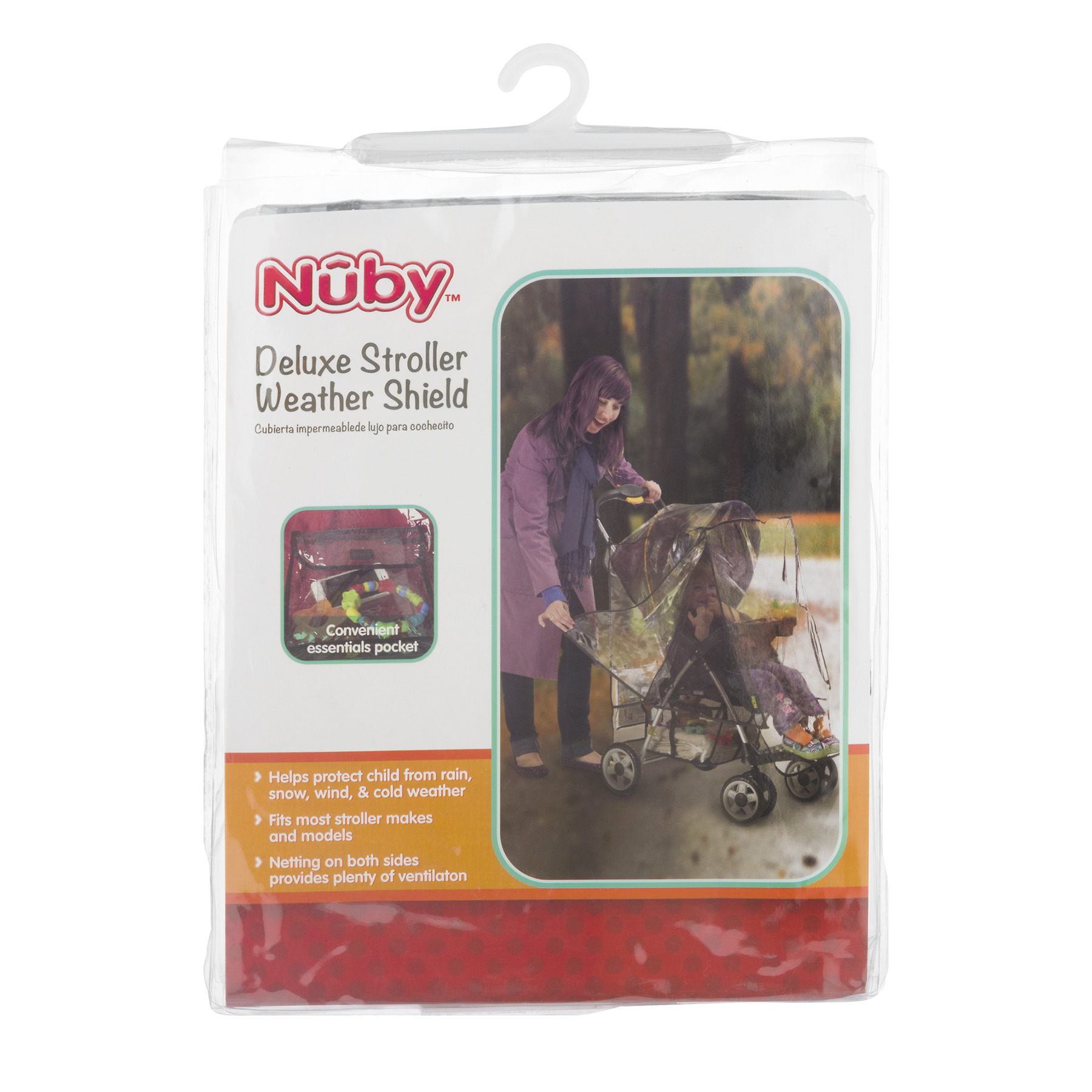 Nuby Deluxe Stroller Weather Shield, 1.0 CT