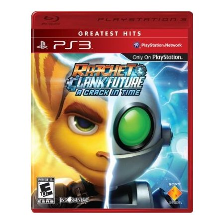 Refurbished Ratchet And Clank Future: A Crack In Time PlayStation (Ratchet And Clank A Crack In Time Planets)