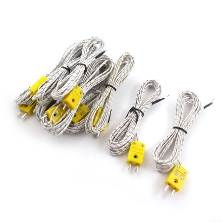 10 x K-Type Temperature Controller Thermocouple Sensor Wire -50C to +200C 10ft - image 1 of 1