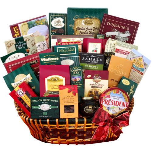 Alder Creek Extravagant Gourmet Gift Basket