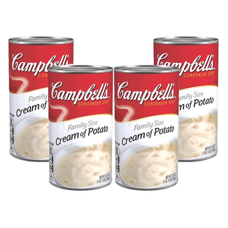 Cream Potato - (3 Pack) Campbell's Condensed Family Size Cream of Potato Soup, 23 oz. Can