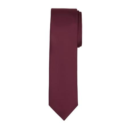 Pink Stripe Tie (Jacob Alexander Men's Slim Width 2.75