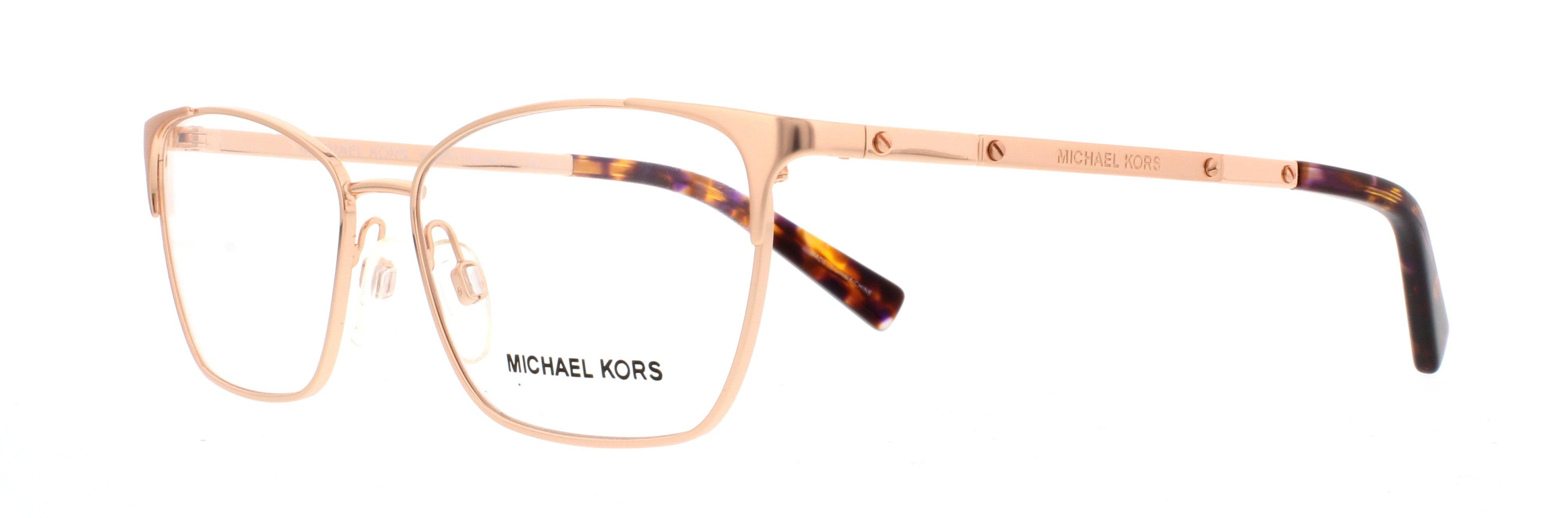 michael kors eyeglasses mk 3001 1026 rose gold 52mm walmart com rh walmart com