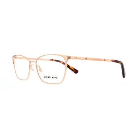 c382cffa585f MICHAEL KORS Eyeglasses MK 3001 1026 Rose Gold 52MM - Walmart.com