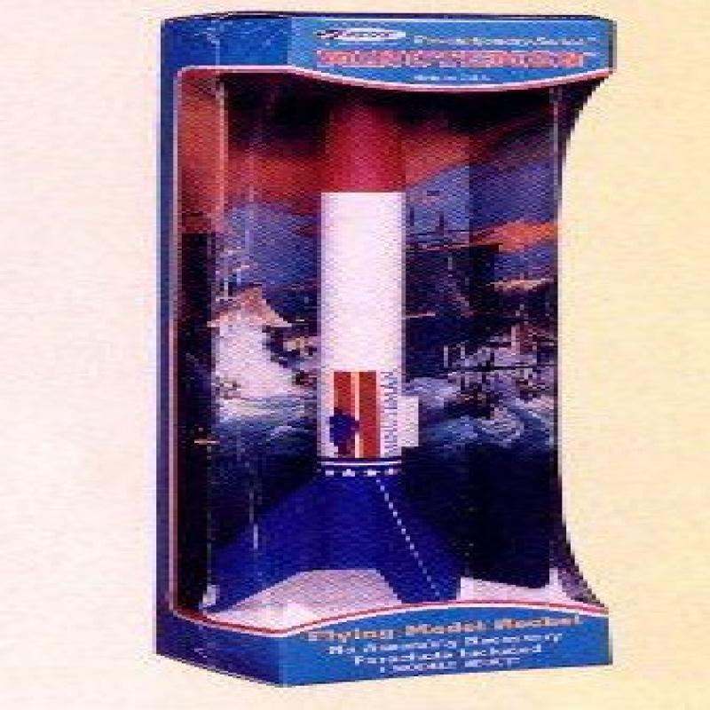 #0731 Estes Revolutionary Series Minuteman Flying Model Rocket Kit by