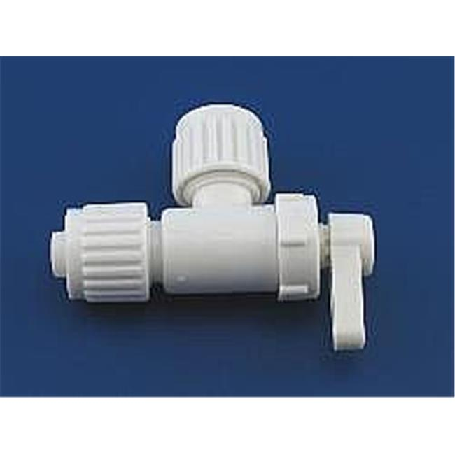 ELKHART SUPP 6883 1 Pc X 0.37 X 0.37 In. Angle Stop Valve