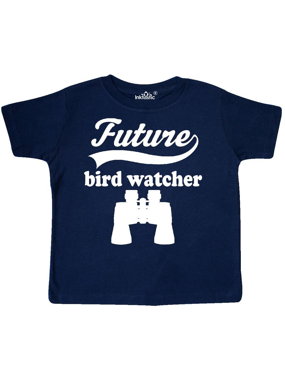 inktastic Birdwatching Future Bird Watcher Toddler T-Shirt