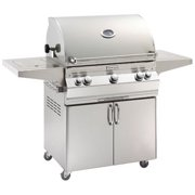 A660s5LAN62 Analog Style Stand Alone Grill - Natural Gas