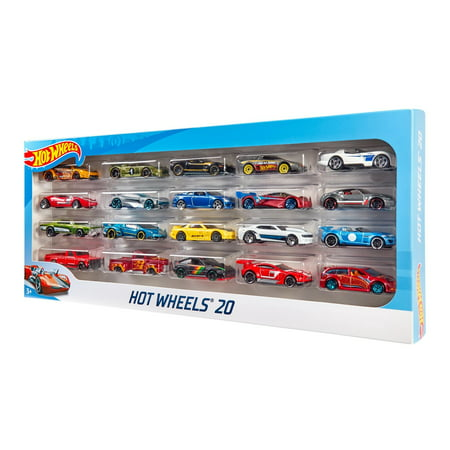 Hot Wheels 20-Car Gift Pack, 1:64 Scale (Styles May Vary)