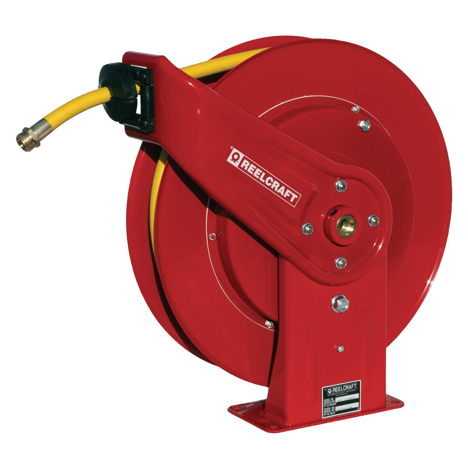 Reelcraft Heavy Duty Water 1/2 in. Hose Reel - 50 ft.