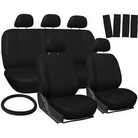 Oxgord 17 Piece Set Flat Cloth Mesh Auto Seat Covers
