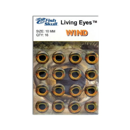 Fish Skull Living Eyes Fly Tying Materials - All (Tying Dry Flies)