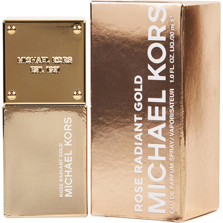 MICHAEL KORS ROSE RADIANT GOLD by Michael Kors - EAU DE PARFUM SPRAY 1 OZ (GOLD COLLECTION) - (Kora Collection)