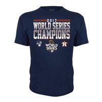 Houston Astros Stitches Youth 2017 World Series Champions T-Shirt - Navy