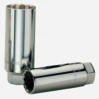 """Wiha (Heyco) 60263 3/8"""" Spark Plug Socket 18mm"""