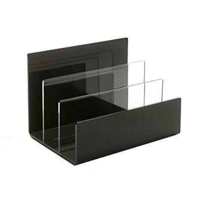 acrylic desktop, folder and makeup palette organizer - ma...