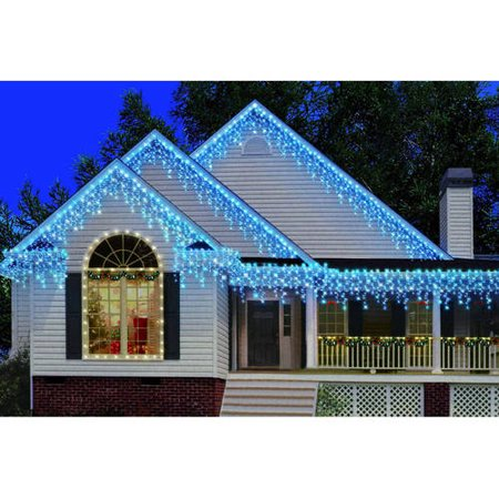 Holiday Time 300 Count Heavy Duty Icicle Christmas Lights