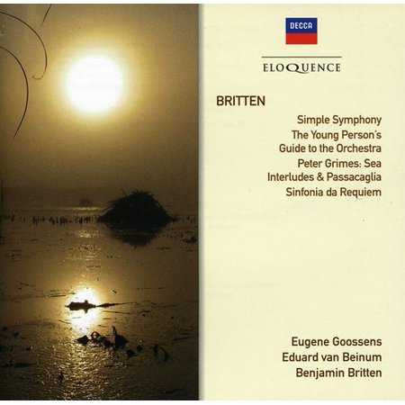 Britten: Simple Sym / Four Sea Interludes (CD) (Benjamin Britten Four Sea Interludes From Peter Grimes)