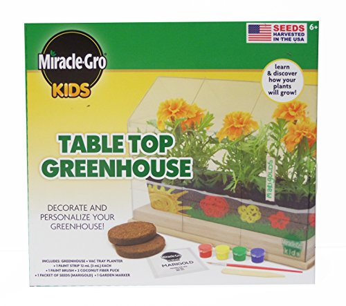 Miracle Gro Kids Table Top Green House