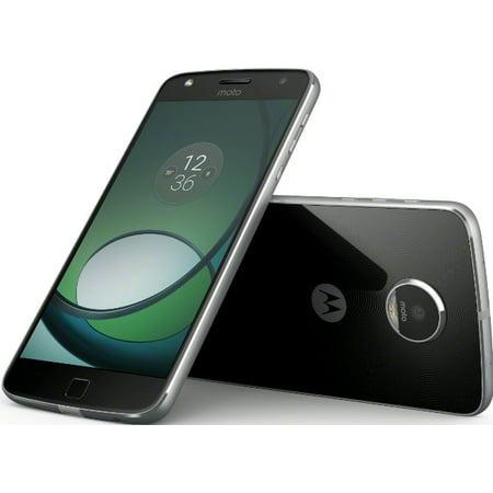 61110ad05dc Motorola Moto Z Play 32GB Unlocked Smartphone, Black - Walmart.com