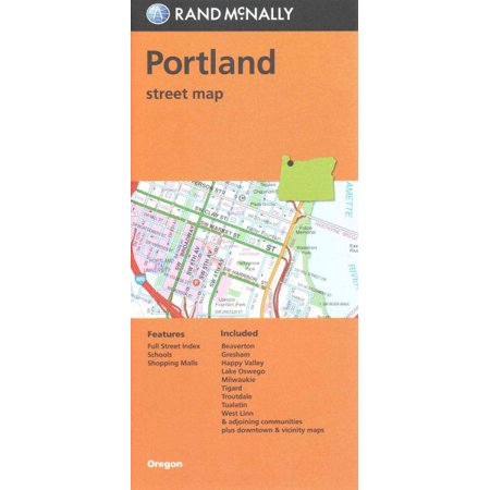 Rand McNally Portland, Oregon Street Map - Folded Map](Costume Stores Portland Oregon)