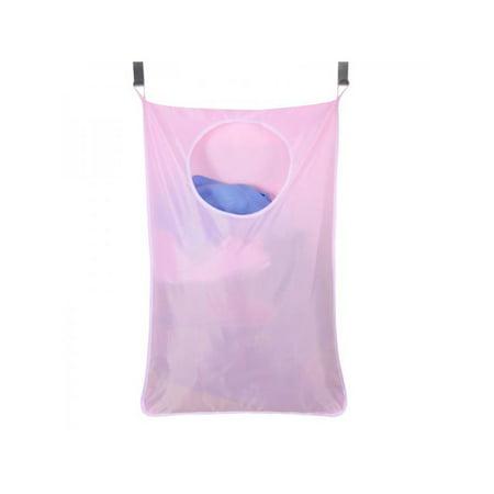 MarinaVida Household Door Hanging Laundry Hamper Large Capacity Dirty Clothes Storage Bags ()