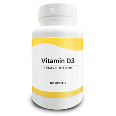 Pure Science Vitamin D3 5000 Iu   Strengthens Bones   Teeth  Improves Muscle Function  Supports Cardiovascular Health   Metabolism   100 Gelatin Softgels