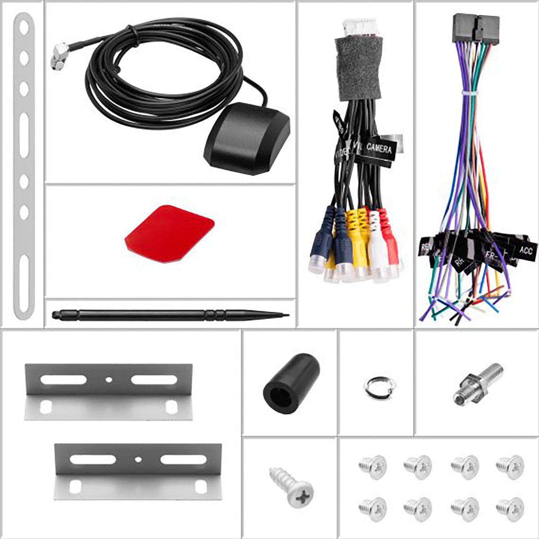 BOSS Audio BV40NV Double Din, Touchscreen, Bluetooth, Navigation/GPS,  DVD/CD/MP40/USB/SD AM/FM Car Stereo