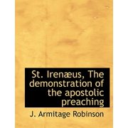 St. Iren Us, the Demonstration of the Apostolic Preaching