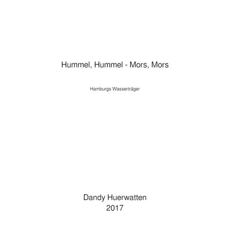 Hummel, Hummel - Mors, Mors - eBook