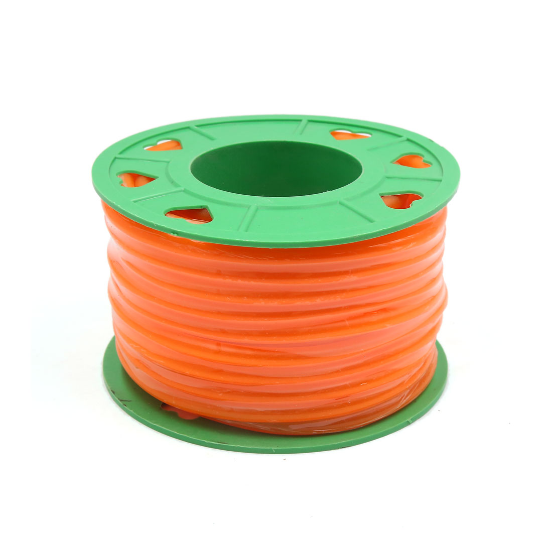 Universal 18M Motorcycle Silicone Fuel Petrol Oil Pipe Tube Hose Line Orange