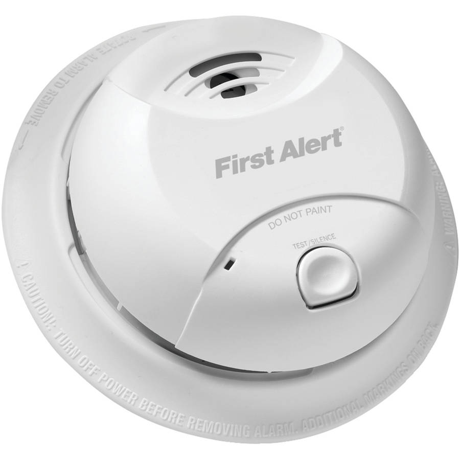 first alert 10year ionization smoke alarm round 0827b - First Alert Smoke Detector