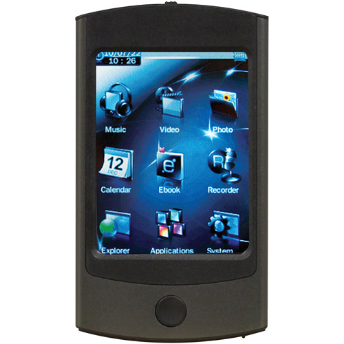 ECLIPSE ECLIPSE-2.8V-GM 4GB 2.8 Inch. 2.8V MP4 Player (Gun Metal)