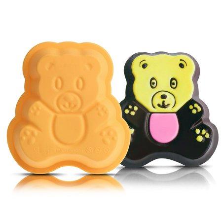 INNOKA Silicone Teddy Bear Mold - Yellow