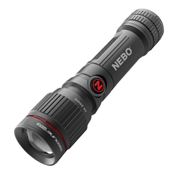 Nebo - 450 Lumens Aluminum LED Flashlight (14500 Rechargeable Battery Included)