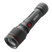 Nebo - 450 Lumens Aluminum LED Flashlight (14500 Rechargeable Battery Included)