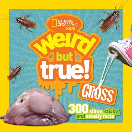 Weird But True Gross: 300 Slimy, Sticky, and Smelly Facts (Paperback) (True Facts About Halloween)