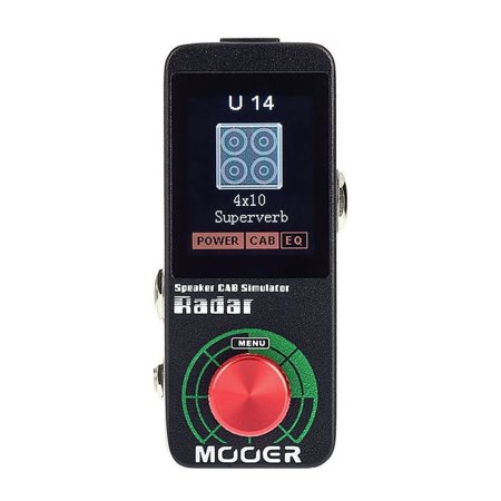 Mooer Audio Radar Speaker Cabinet Simulator Effect Pedal