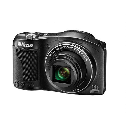 Nikon Black COOLPIX L610 16 MP 14x Optical Zoom Digital Camera