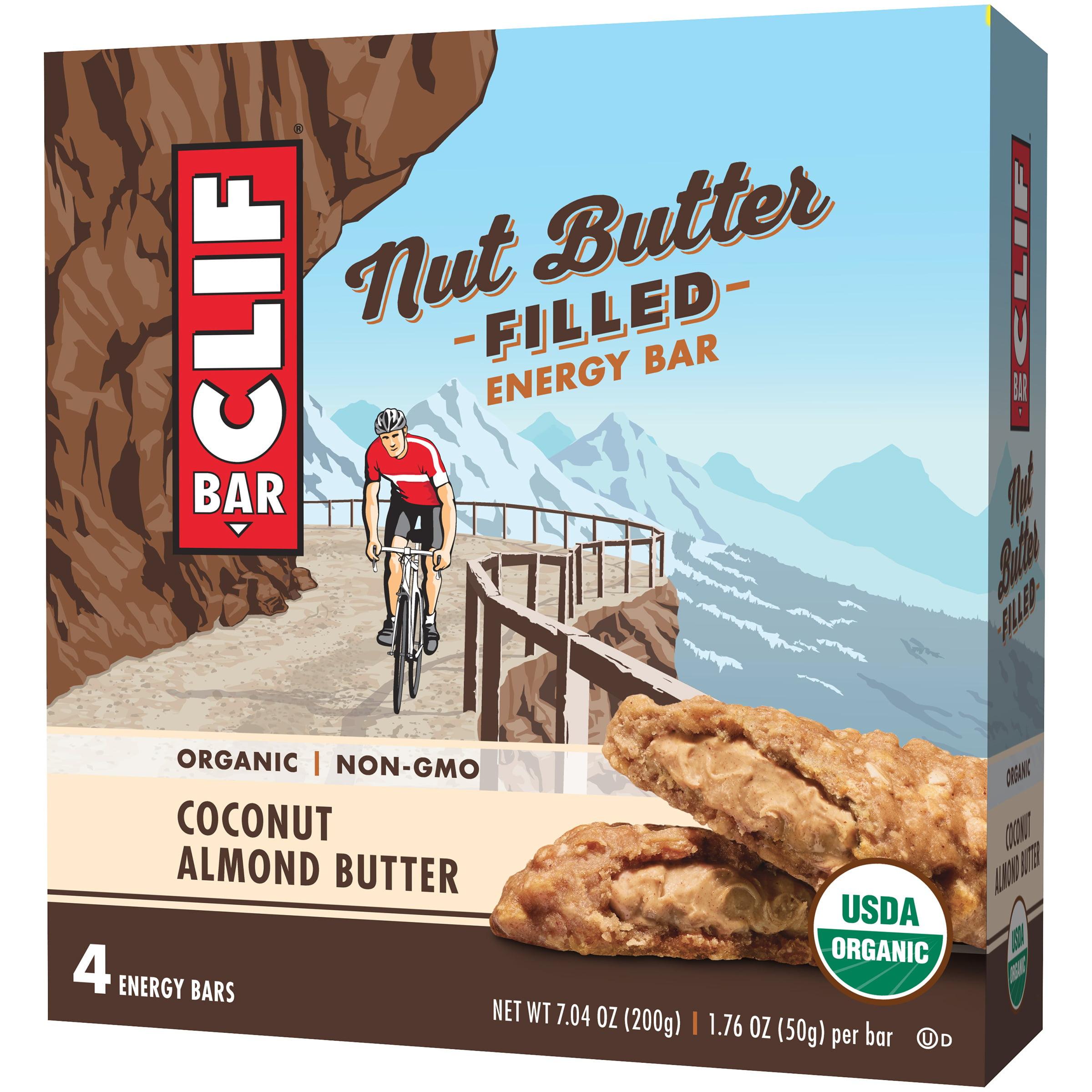 Clif Bar® Coconut Almond Butter Nut Butter Filled Energy Bar 4 ct ...