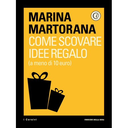 Come scovare idee regalo (a meno di 10 euro) - eBook](Idee Regalo X Halloween)