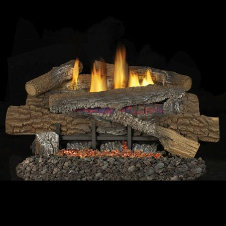 "Stoney Ridge Vent Free 24"" Gas Logs with Millivolt Control - NG"