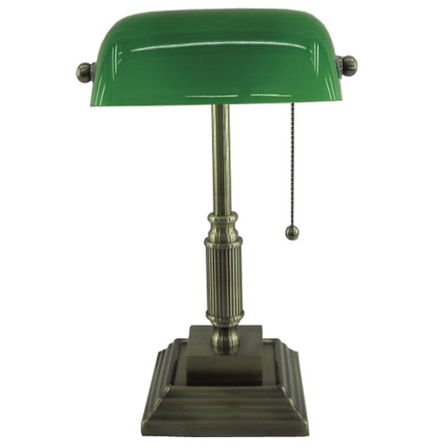 NormandeLighting 15'' H Table Lamp with Novelty Shade by NormandeLighting