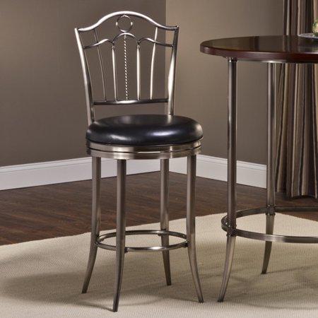Hillsdale Furniture Portland 26 Swivel Bar Stool