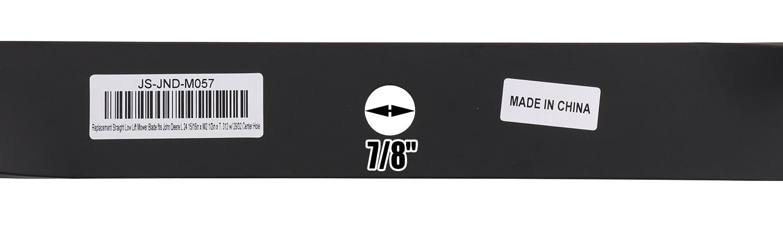 3 Mower Blades for John Deere® M141786 M41237 M80783 AM30698 AM102401 AM102402