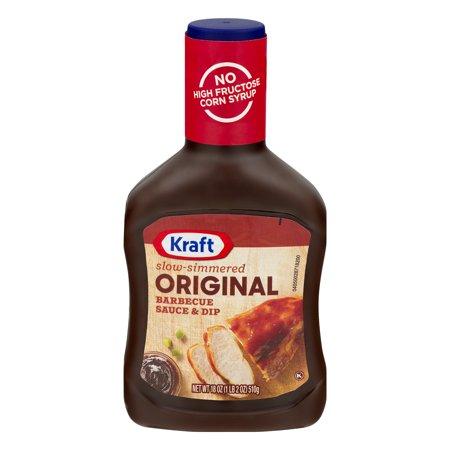 Kraft Slow-Simmered Barbecue Sauce & Dip Original, 18.0 OZ