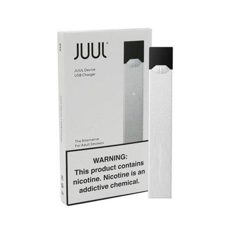 Juul Basic Slate Device Kit - Silver + Charger - Walmart com