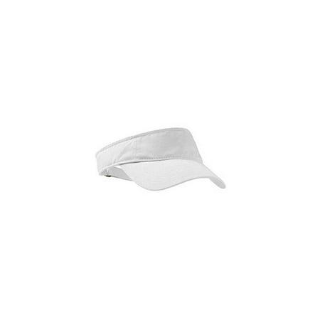 fashion visor, color: white, size: one size