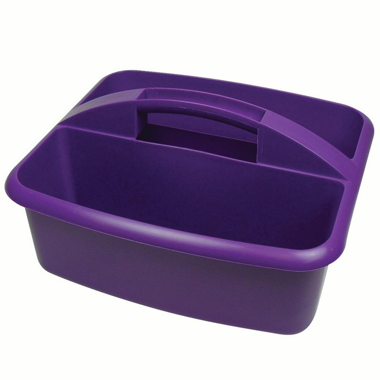 LARGE UTILITY CADDY PURPLE