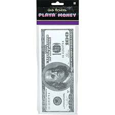 Amscan Mens Big Playa Money Halloween Costume Accessory - Big Mens Halloween Costumes